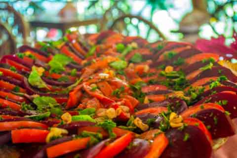 Vegan Food at Yoga Retreat in Costa Rica