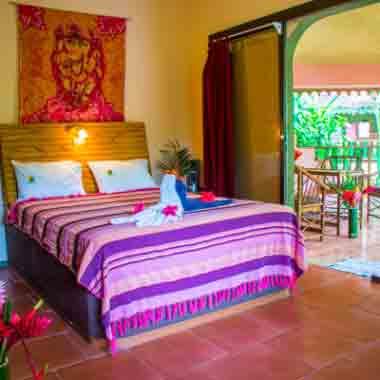 Garden Room Accommodation in Costa Rica