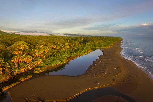 Pristine Beach at Yoga and Wellness Retreat in Costa Rica