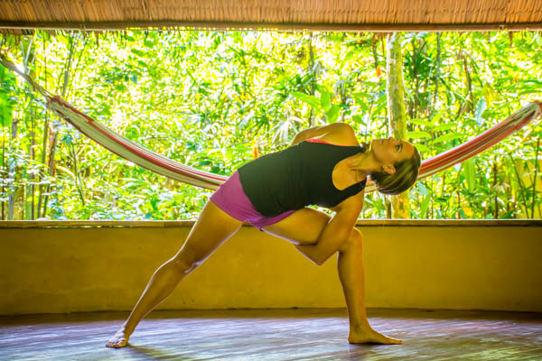 Yoga Practice at Yoga and Wellness Retreat in Costa Rica